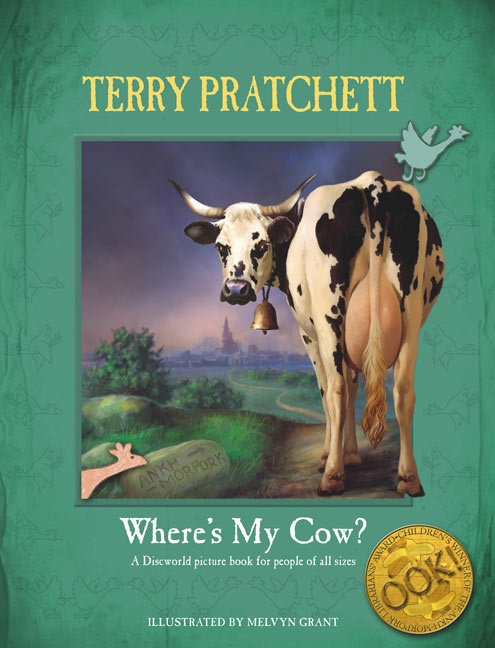 Terry Pratchett one of his kids books... sort of. From inside of the Discworld
