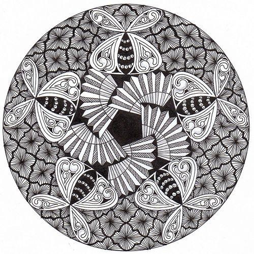 130 Best Images About Zentangol E Mandala On Pinterest