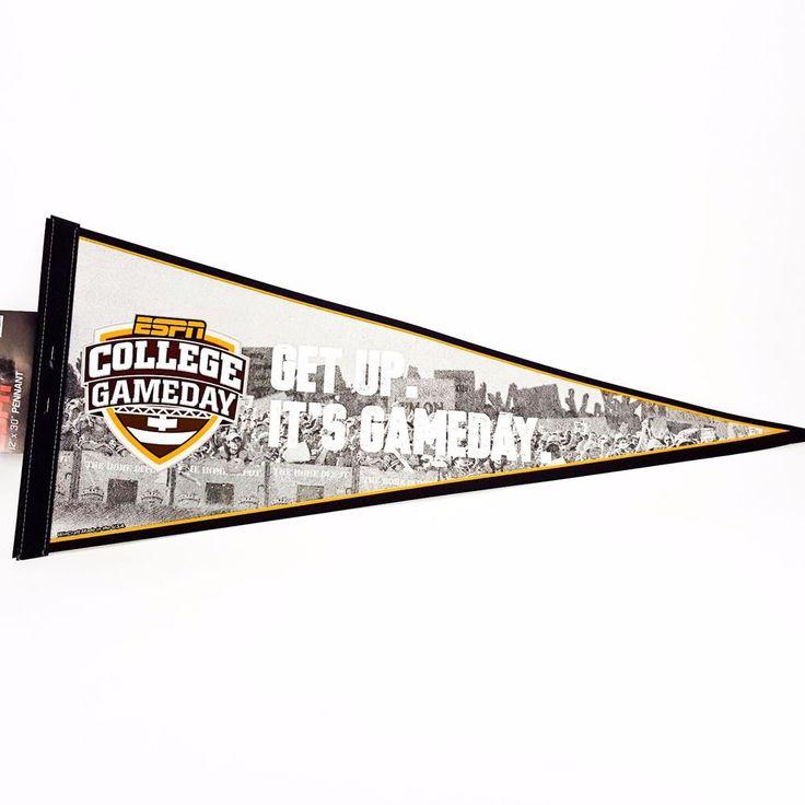 "ESPN College Gameday Sports Center University 12x30"" Pennant Banner Wincraft NEW"