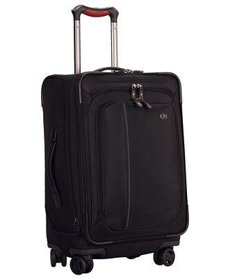 "Victorinox Werks Traveler 4.0 22"" Dual Caster Spinner Suitcase on sale Macys 11/14, also in green! 15x22x10"