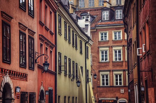 """""""Warsaw Old Town Charm"""" by fellow artist/photographer Carol Japp."""