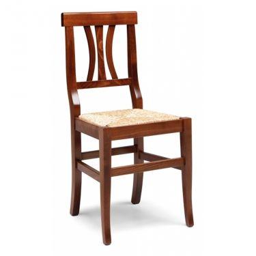 € 33,00 #sconto 40% #sedia FIDELIA in #legno massello di faggio e seduta in vera #paglia. Arte povera. In #offerta prezzo su #chairsoutlet factory #store #arredamento. Comprala adesso su www.chairsoutlet.com