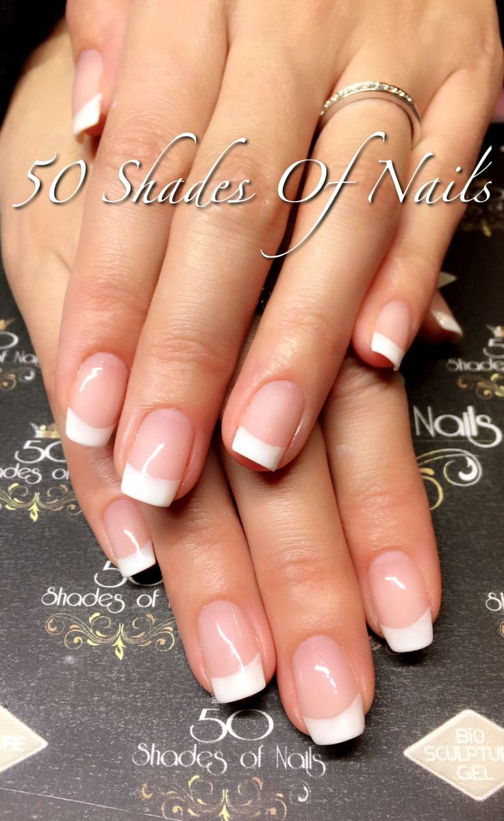 Bio Sculpture Gel French manicure