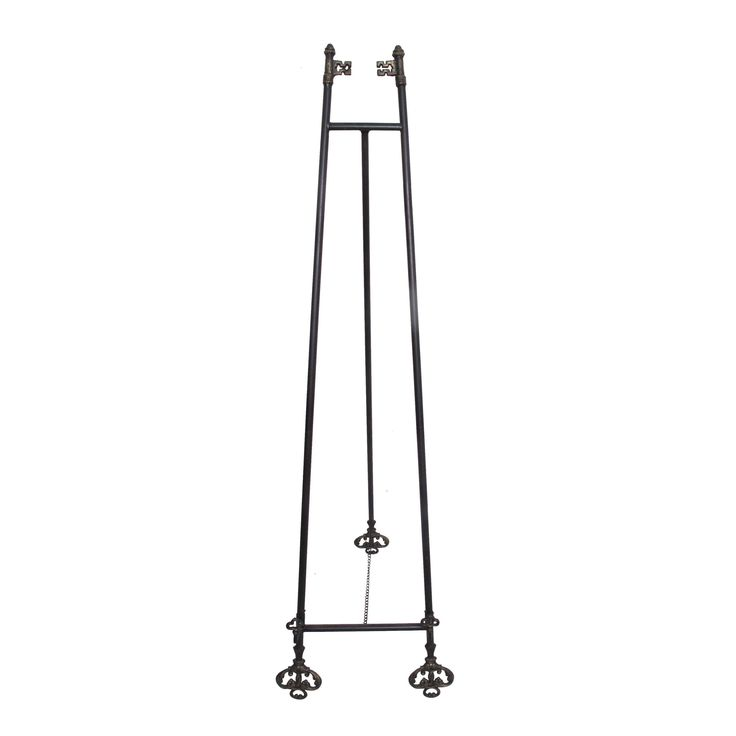 Jeco Black/Gold Metal Easel with Key Tips (Key Tip)