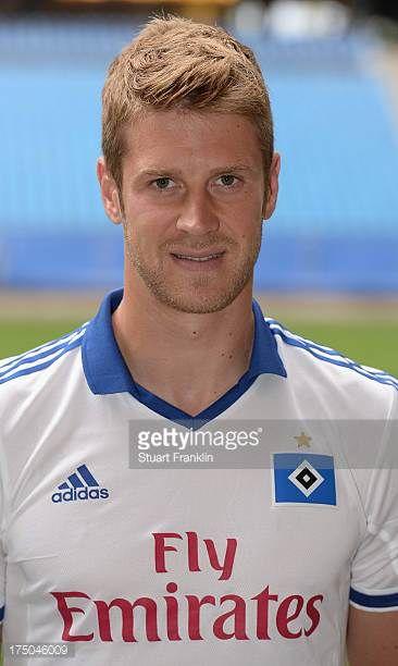 Slobodan Rajkovic of Hamburg poses for a photograph during the official Hamburger SV team presentation on July 30 2013 in Hamburg Germany