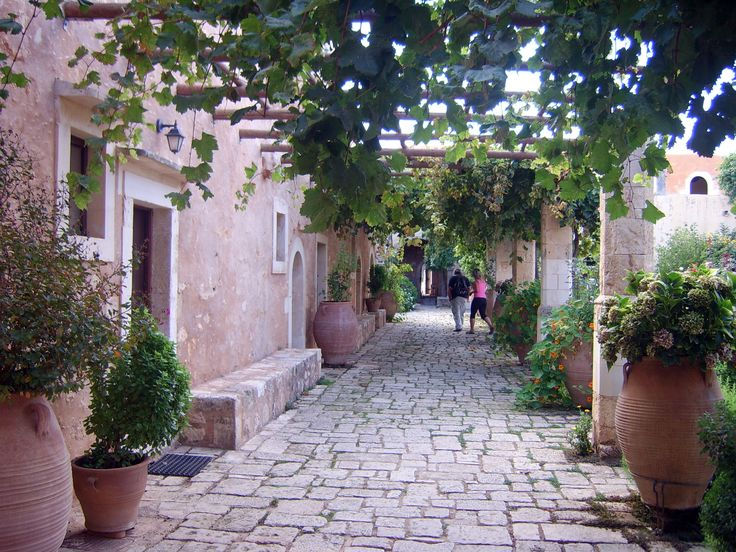 #Arkadi monastery, #Rethymno, #Crete, #pass2greece