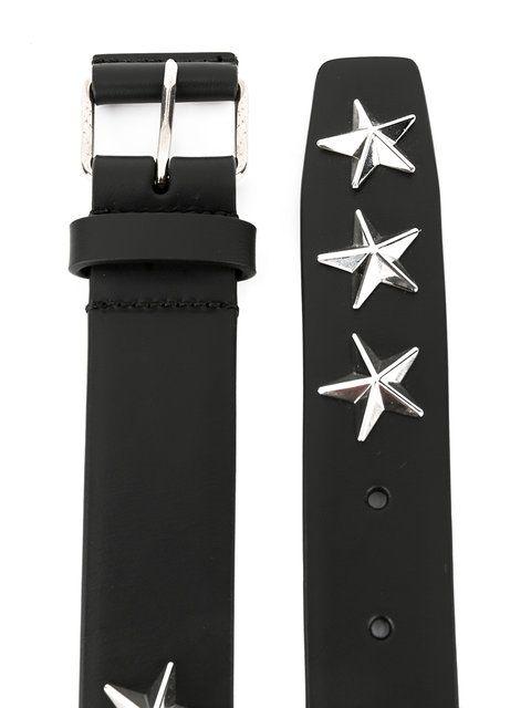 Achetez Givenchy ceinture à étoiles métalliques.