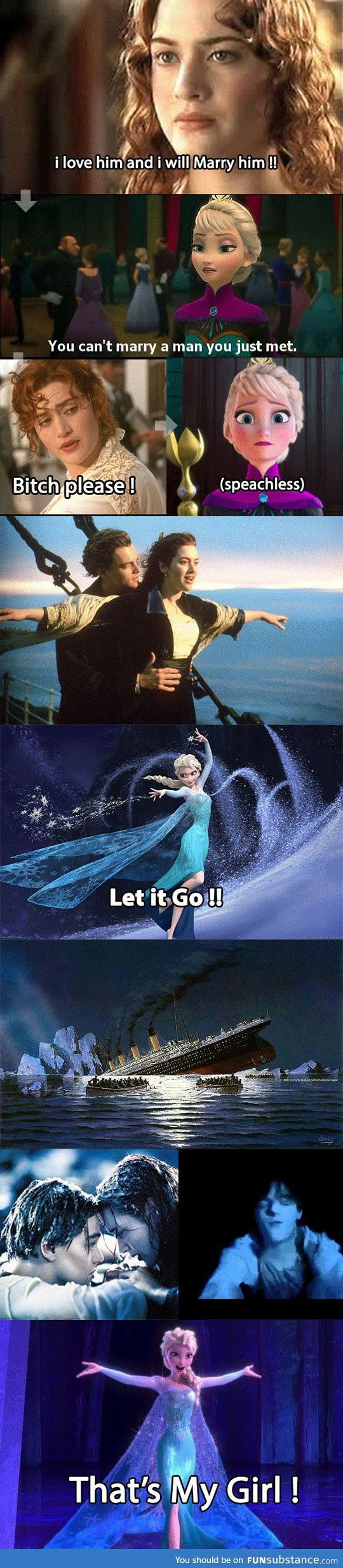 Elsa joins titanic @Lisa Cave