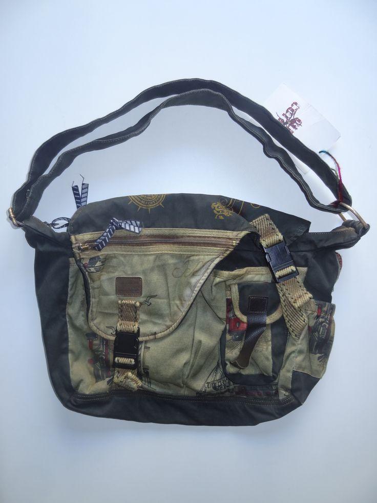 Old Cotton Cargo Bag - BAG#4 (56,- €)