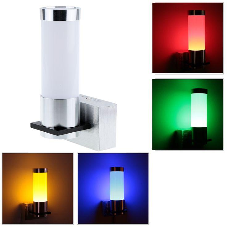 Высокая яркость современная простой дизайн 1 Вт 85 265 В AC алюминий из светодиодов настенный светильник бра для спальни прохода кухнякупить в магазине Sweet Life^_^наAliExpress