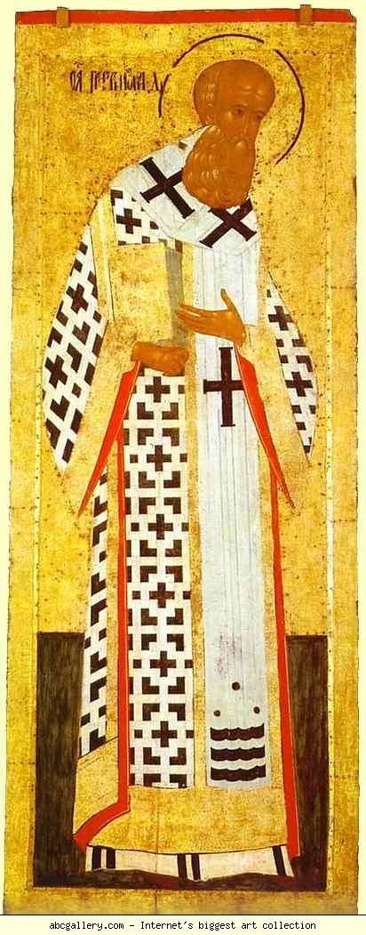 Dionisii (Dionysius). St. Gregory the Theologian. Olga's Gallery.