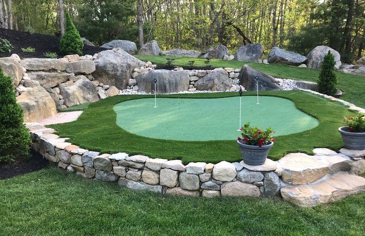Do it yourself putting greens backyard putting green