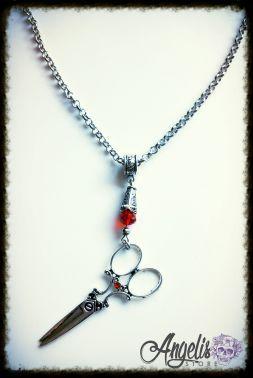 Vintage Tailoring Scissors Necklace