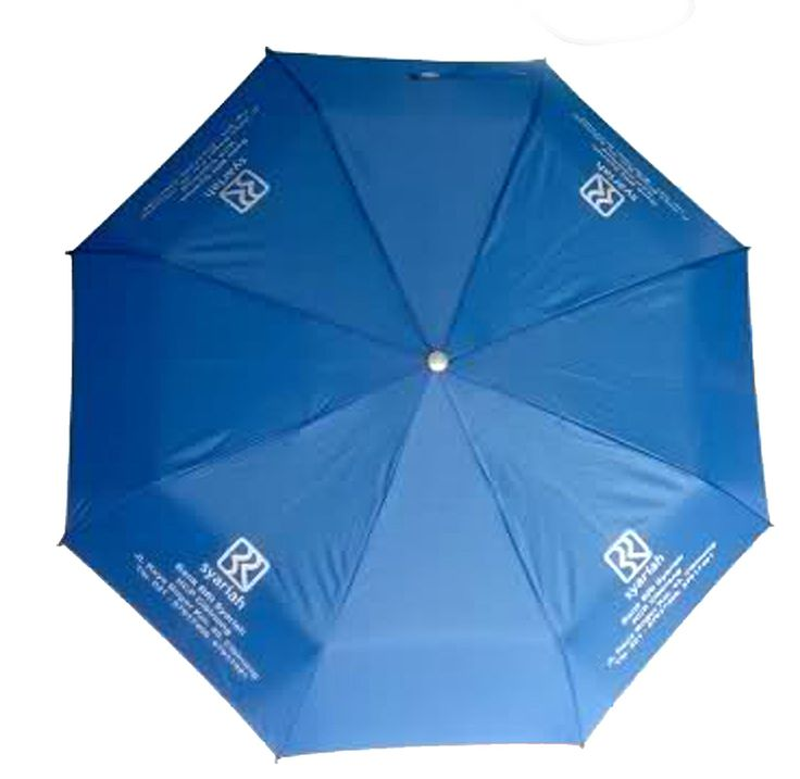 Payung lipat 2 warna  payung lipat yang mudah disimpan dan mudah dibawa.Tersedia dalam berbagai warna. Dengan sablon logo perusahaan di ke empat sisinya,menambah keunikan payung promosi ini