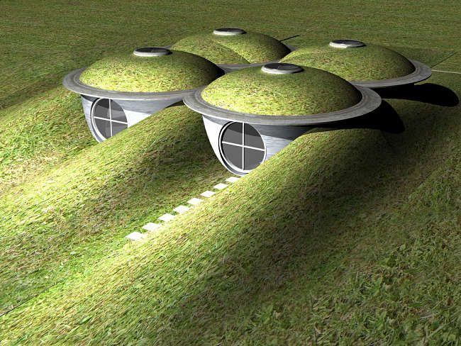 How to Build An Underground House the Right Way #UndergroundHomes #architecture