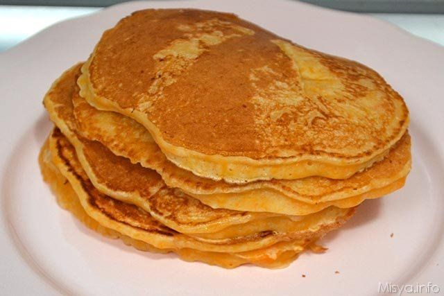 7 impilare pancakes