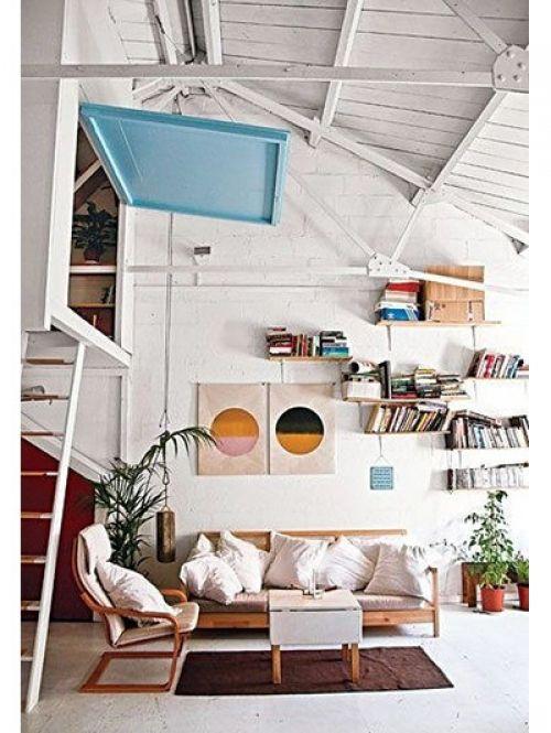 25 beste idee n over kleine ruimtes op pinterest decoreren kleine ruimtes kleine kamer - Idee deco kamer kleine jongen ...