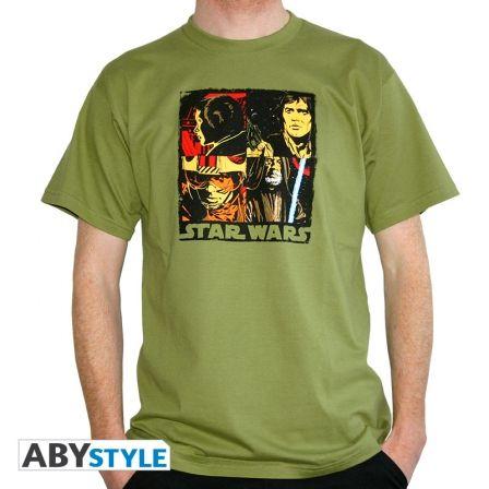 STAR WARS T-shirt Pop Art Green