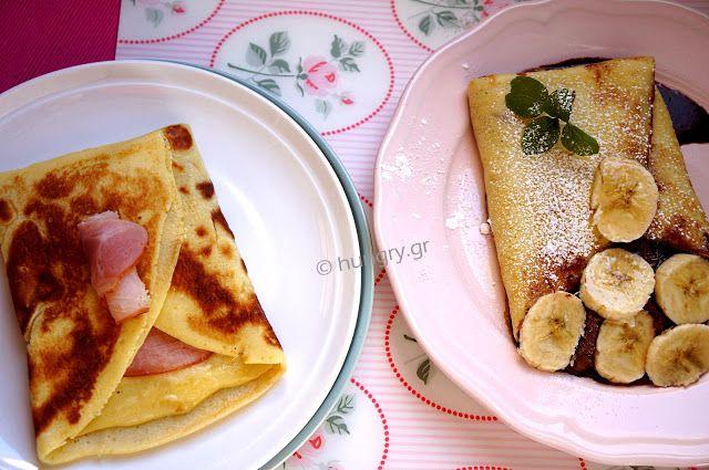 Kitchen Stori.es: Κρέπες Γαλλικές Αλμυρές & Γλυκές-DIY