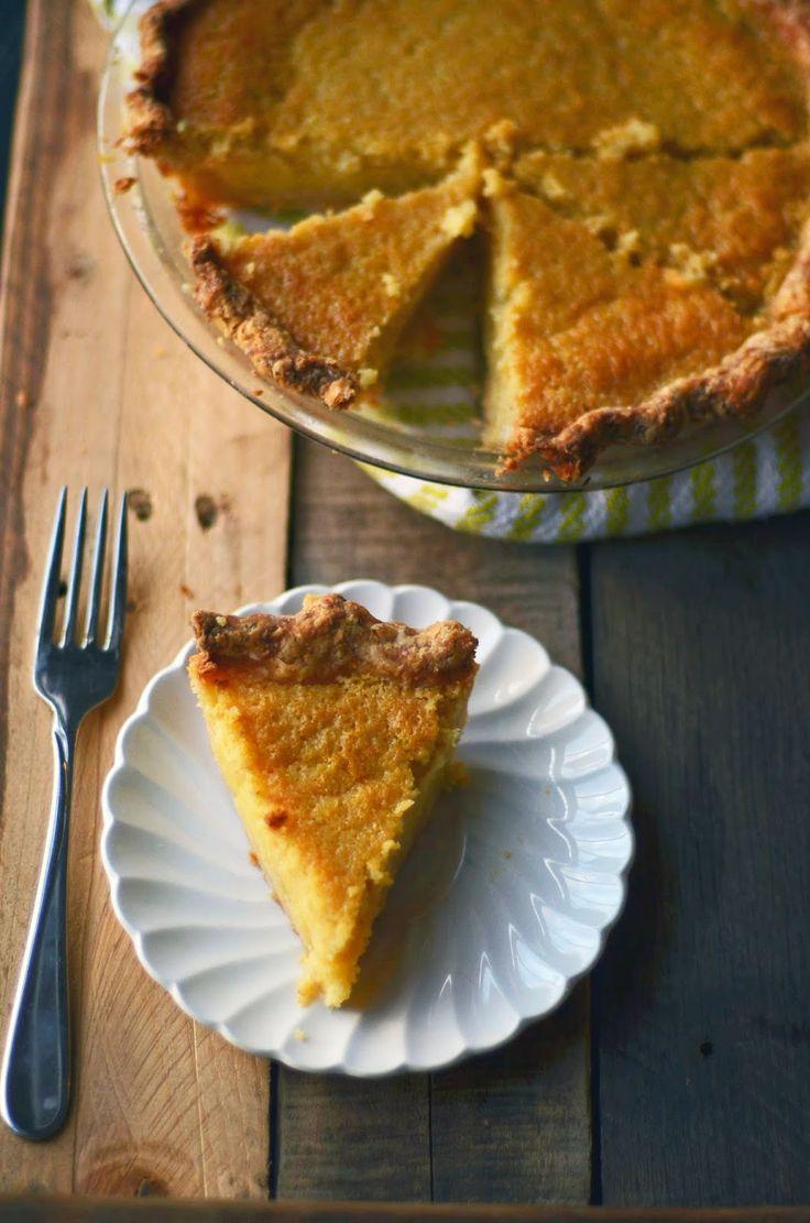 Buttermilk Lemon Chess Pie | Pie, Cobbler and Tart Recipes ...