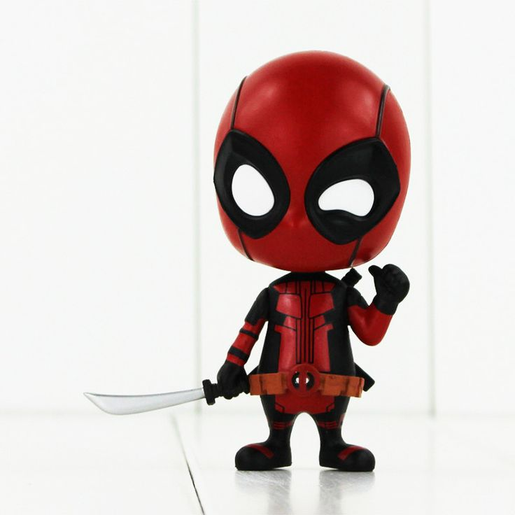 Funko Pop X-Men Deadpool Figure with SwordCosplay Anime Action Figure Juguetes Model Hot Kids Toys 9.5cm