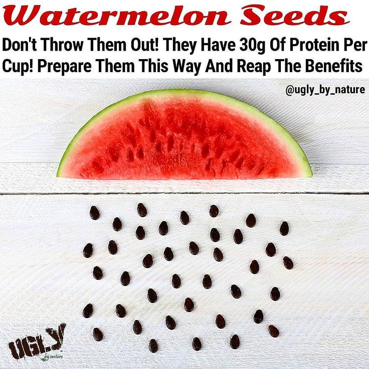When you think of the health benefits of watermelon the seeds probably don't come to mind. You probably think about the sweet juicy pulp with the seeds an afterthought and maybe good only for spitting contests. The fact is watermelon seeds make a great snack when they have been dried and roasted.  Here are several important nutritional components of watermelon seeds.  Watermelon seeds are very high in protein with 1 cup of dried seeds containing 30.6g. The protein in watermelon seeds…