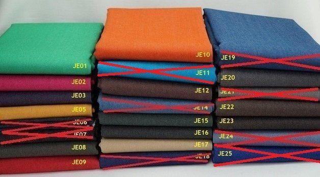 Stoffe gemustert - Jeans Stoff Stretch zur Auswahl - ein Designerstück von AllStoff bei DaWanda