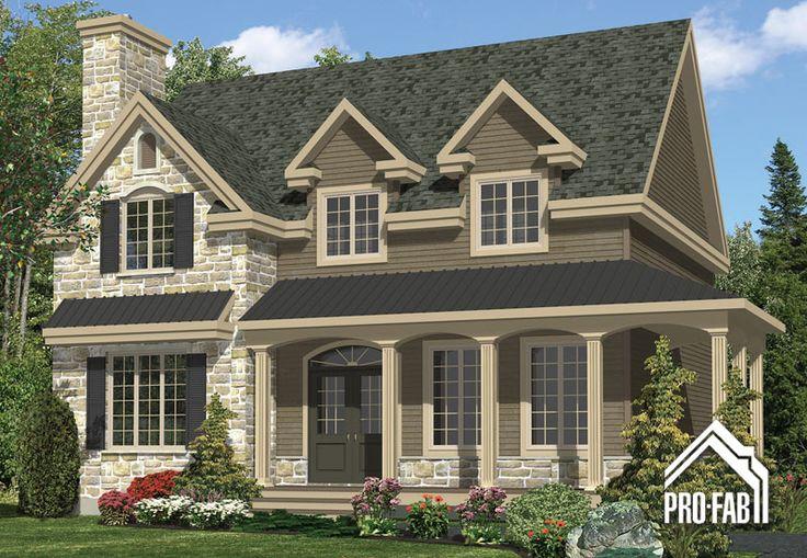 Pro fab constructeur de maisons modulaires usin es for Style house pro