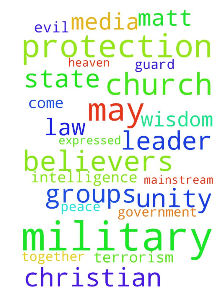 Kingdom of God/ Our Needs/ Church Unity/ USA Gov, Military, Police/ Trump/ World -  Thank God for the UNITY expressed by over 150 Christian Leaders on The Definition of Marriage in The Nashville Statement... httpscbmw.orgnashvillestatement Pray after this manner, Our Father in heaven, Hallowed be Your Name Your Kingdom come Your Will be done on earth as it is in heaven Give us this day our daily bread May we remember that Provision, Jobs, Healing and deliverance are The Childrens Bread…
