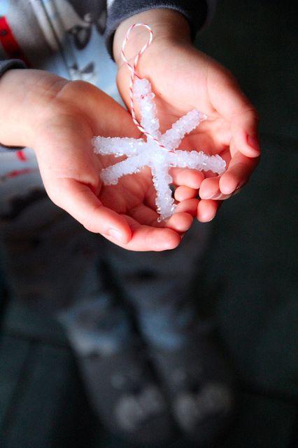 Sneeuwvlokken maken!