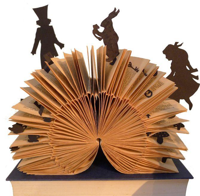 Book Sculptures - Childrens Stories - Helen Baker Design