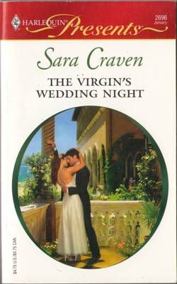 The Virgin's Wedding Night by Sara Craven Romance 0373126964