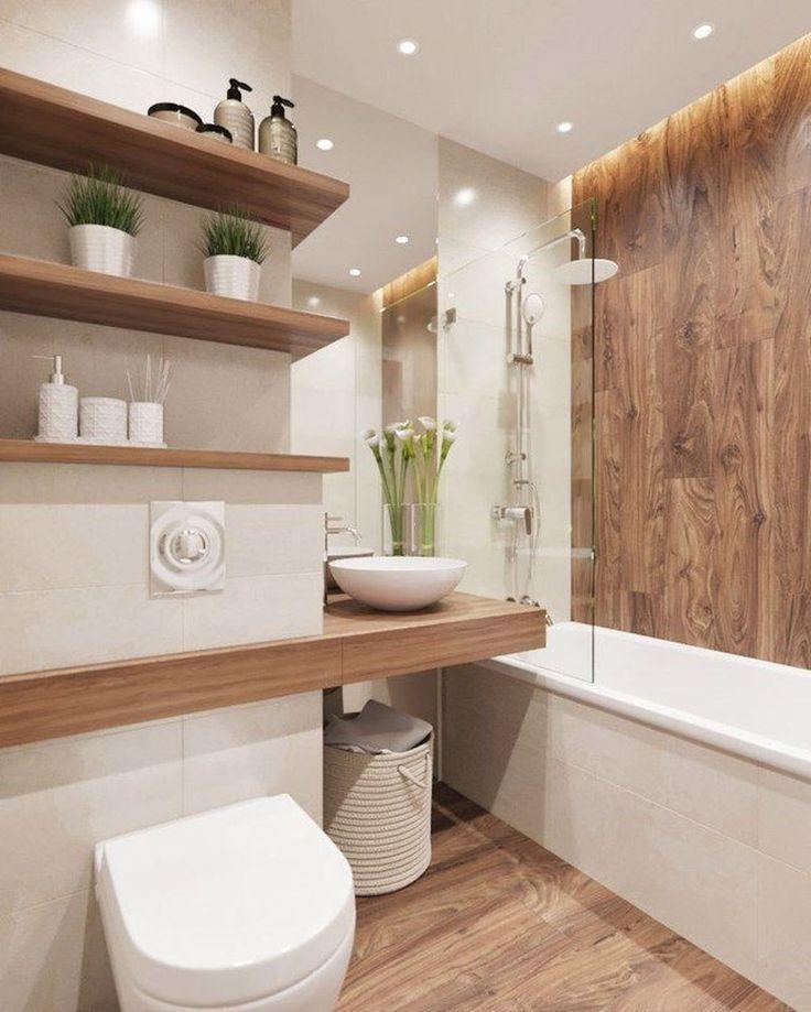 42 Erstaunliche zeitgenössische Badezimmerdesign-…