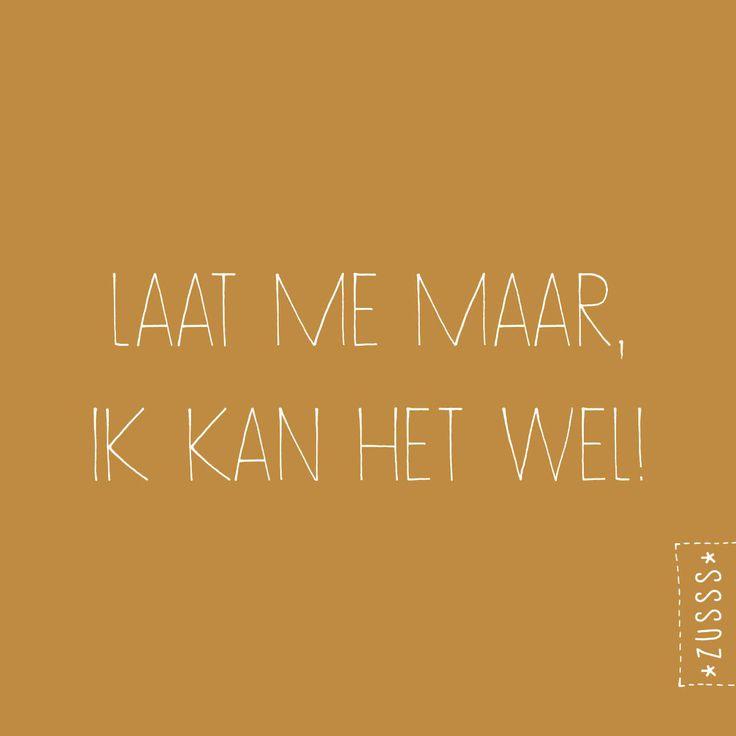 Zusss | Je kan het wel | http://www.zusss.nl/