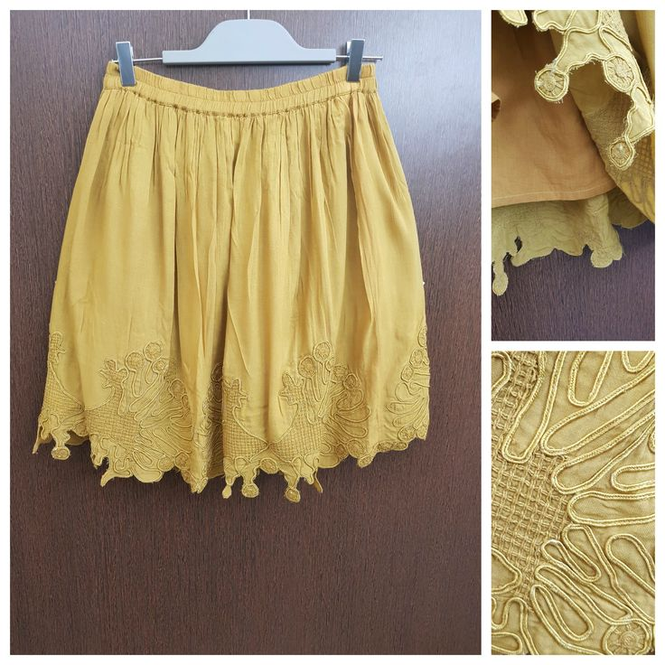 In store now: Self Design Threa..., visit http://ftfy.bargains/products/self-design-thread-work-mustard-yellow-skirt?utm_campaign=social_autopilot&utm_source=pin&utm_medium=pin  #amazing #affordable #fashion #stylish