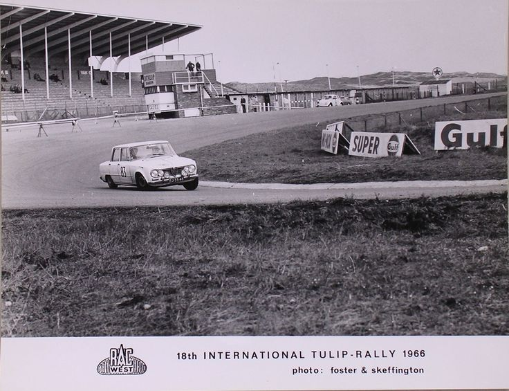 Tulpen Rally 1966 Circuit Zandvoort