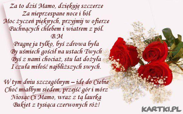 Pin By Jadwiga Blaszak On Dzien Matki