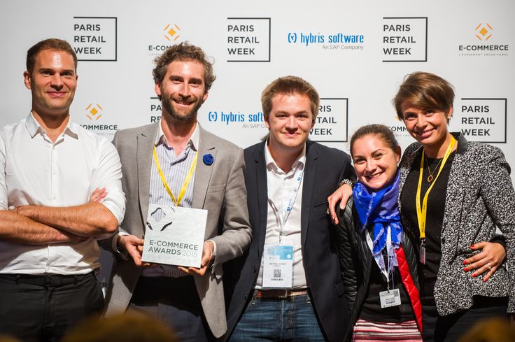 """InPost France, winner of the category """"Logistics"""" with their e-commerce connected lockers, a solution for consumers to have their orders delivered and returned, ship packages and also make them available 24/7. #ECP15 #ParisRetailWeek #AWARDS"""