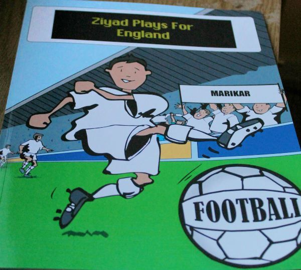 Personalised football book from @penwizard #book #review
