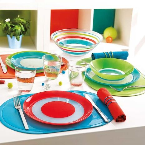 Simply Colors Dinnerware Collection by Luminarc