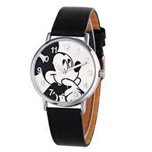 Dzieci watch Hot sprzedaż Mickey Mouse oglądać kreskówki mody i casual Mouse kid chłopcy kobiety Oglądać dziewczyny relojes montre femme(China (Mainland))
