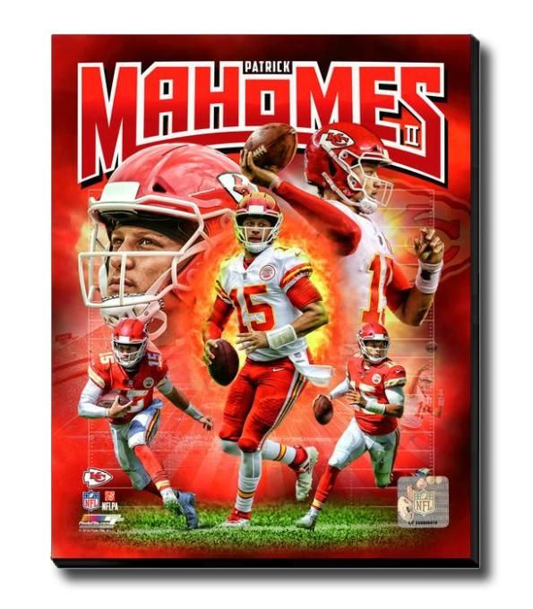 Patrick Mahomes Kansas City Chiefs Portrait Plus Nfl Licensed Framed Photo Print Kansas City Chiefs Kansas City Chiefs Football Kc Chiefs Football