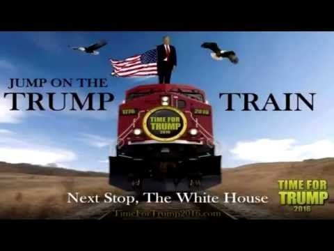The Trump Train is the new Soul Train - YouTube