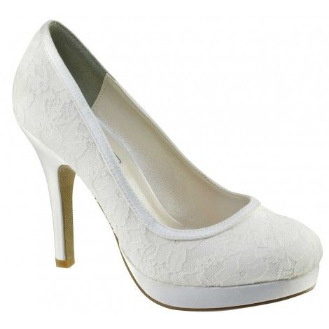 Touch Ups Bobbie  Dyeable Wedding Shoes