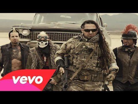 Awesome, loving this cover and video...especially the Welderup cars! - ▶ Five Finger Death Punch - House of the Rising Sun - YouTube