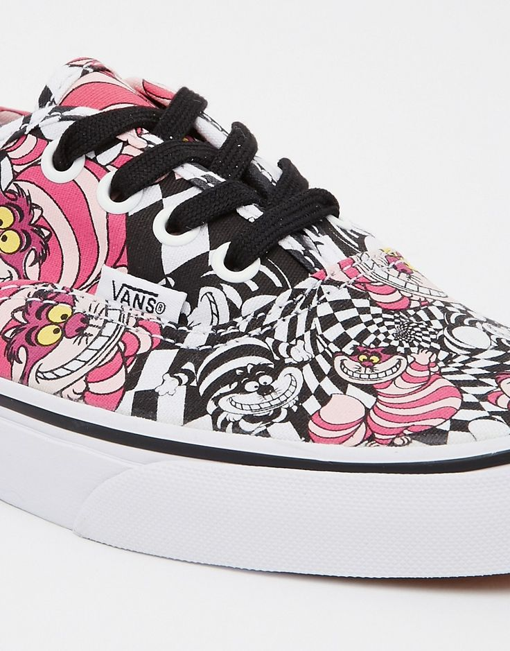 Image 4 - Vans Authentic - Disney Cheshire Cat - Baskets