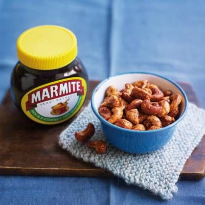 These Marmite Cashews are a party treat your guests will love....or hate!