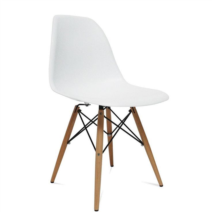 The Woodleg Dining Chair is a truly comfortable chair, it has a high flexible back with good 'give' and a deep seat pocket supported by an elegant Wood/Wire Base. Usually Ships in 24-48 hours For home