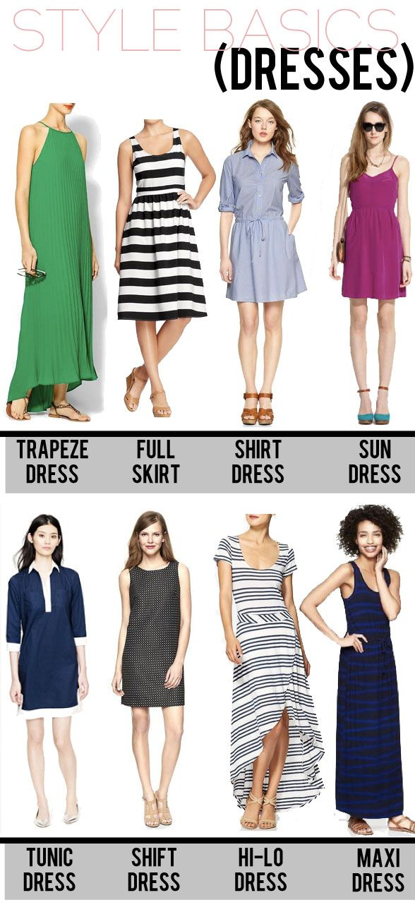 jillggs good life (for less) | a style blog: STYLE BASICS: dresses! (cuts of dresses)