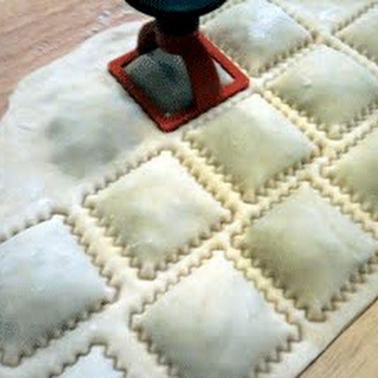Simple Vegan Pasta Dough Raviolis